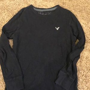 Men's AE black long sleeve